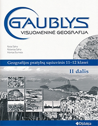 11 klasė: Geografija: Gaublys - 2 dalis