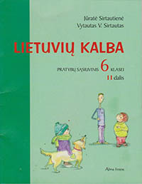 6 klase: Lietuvių kalba - 2 dalis