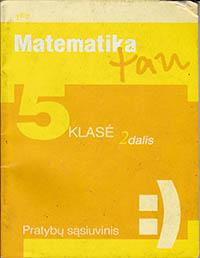 Matematika Tau 5 klasė - 2 dalis