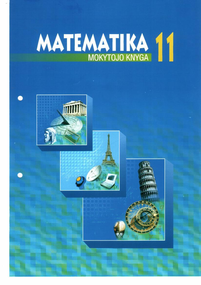 Matematika 11 klasė - 1 dalis mokytojo knyga (visi knygos atsakymai)